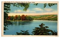 1950 Garrett's Point, Lake Keuka, NY Postcard *5N(2)31