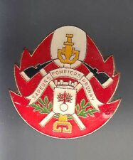 RARE PINS PIN'S .. POMPIER FIRE HACHE & LANCE PRUNAY 51 ~AS