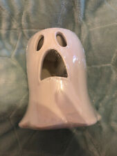 Wickford Halloween Ceramic Ghost wax burner with Haunted House Wax Melt