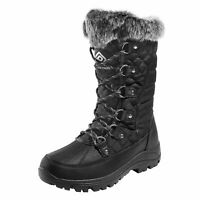 DREAM PAIRS Women's Waterproof Winter Snow Boots Warm Faux Fur Lined Boots US