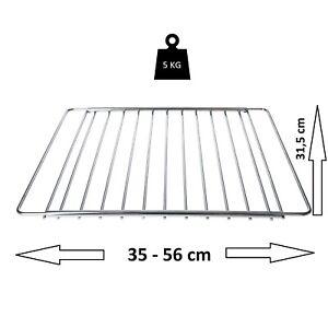 DL-pro Universal Backgitter ausziehbar Backofenrost 35-56 cm Backofen Herd Rost
