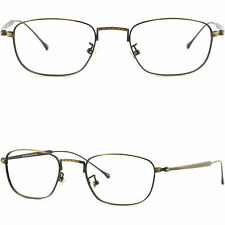 Thin Light Mens Womens Frames Retro Vintage Titanium Glasses Distressed Finishes