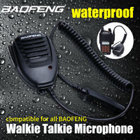 BAOFENG Waterproof Speaker Mike Watertightness Mi For GT-3WP UV-5S UV-9R NEW !