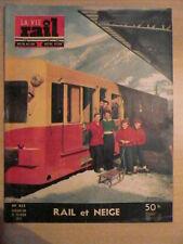 LA VIE DU RAIL n° 435 /21 février 1954 CENTRAL LOCATION St GERVAIS LE FAYET