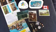 Canada Lot: 14 Items, Expo 67 Montreal, Centennial trays, 86 Expo spoon, pins