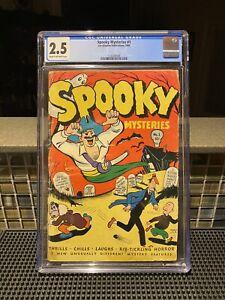 Spooky Mysteries #1 Comic