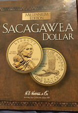 Sacagawea Millennium Edition Folder 2000-P&D Album H.E. Harris & Company Book 2