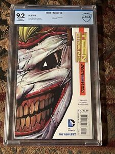 TEEN TITANS # 15 / The new 52! / CBCS  9.2 / February 2013