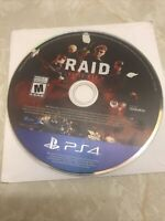 RAID WORLD WAR 2 [PS4 GAME] Disk Only