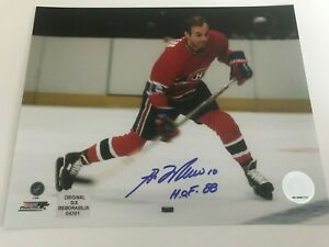 Guy Lafleur autographed Montreal Canadiens 8 x 10 photo with COA