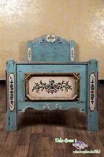 Voglauer Anno 1700 Bed Single Bed Kid's Bed Cottage Bedroom Antique Coloured