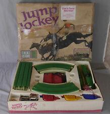 Circuit jouet chevaux electriques vintage Jump Jockey JJ130