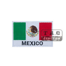 Tactical Mexico Flag Morale Patch Military Armband Badge for Cloth Backpack Cap