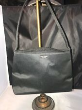 Kate Spade New York Womens Handbag Black Matte PURSE Shoulder BAG  Z107