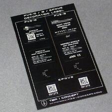 Military Type Decoration Stickers for TMC Dummy PVS GPNVG 18 15 SEAL DEVGRU AOR