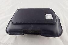 1pcs Black Leather Swivel Belt Clip Holster Pouch Case for Blackberry Torch 9800
