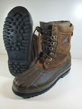 Rocky Pack Boot Mens Insulated Snow Cold Weather Boots Brown Size 11