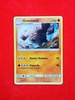 88/214 carte Pokemon GRAVALANCH SL10 Alliance Infaillible Card Game