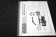 Eumig Mark S 807, 807D, 810 D sound dual super-8 projector owners manual reprint