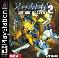 X-Men Mutant Academy 2 - PS1 PS2 Playstation Game