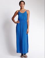 BNWT M&S Beach Holiday Lattice Neckline Maxi Dress RRP £29.50 Now £7.50 75% Offf