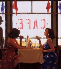 Jack Vettriano greeting card - Cafe Days (Square Card)