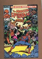 Amazing Spider-Man #4 The Official Marvel Index to ( 1985, Marvel). VF+NM
