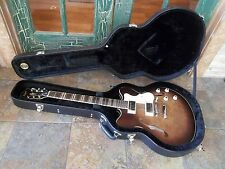 Hofner HCT-VTH Very Thin Semi Hollow Electric Guitar in Natural with Hard Case
