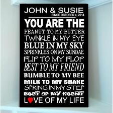 Personlized Couple date You are the Peanut to my Butter wooden board sign2 STYL