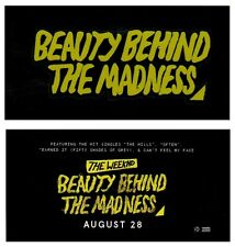 THE WEEKND Beauty Behind The Madness 2015 Ltd Ed RARE New Sticker +FREE Stickers