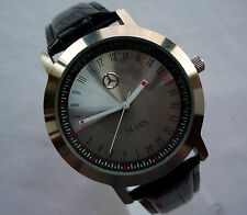 Mercedes Benz 24 Hour Dial Military Time Classic Business Sport Accessory Watch