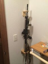 """ Go To "" Gun Rack Wall Display Knotty Pine"