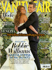 Italian Vanity Fair 8/10,Robbie Williams,August 2010,NEW