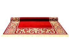 Teppich Mäander 230x160 cm K-Seide Medusa Maeander Rot Barock Carpet Rug versac