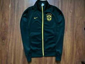 BRAZIL FOOTBALL JACKET ORIGINAL NIKE NATIONAL TEAM SIZE S