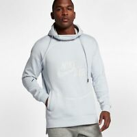 Nike Air Sportswear Pullover Fleece Hoodie Pure Platinum XL New Hoody 857485