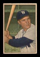 1952 Bowman Set Break # 31 Eddie Yost VG *OBGcards*