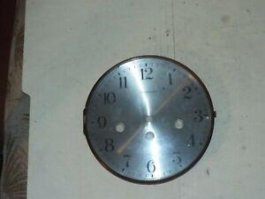 GERMAN CLOCK PAN DIAL BEZEL WITH CONVEX GLASS PARTS NO RESERVE