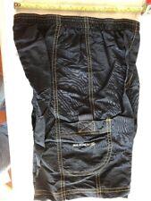 NOS Sugoi Junior Conrad Cargo Shorts Size Large Black
