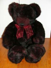 Large Gund Bear 22� Garnet #8749 Hade Made! Excellent condition! - Euc