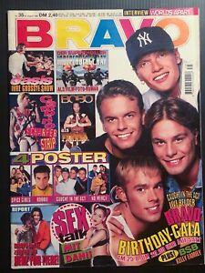 BRAVO 24.8.-30.8.1996 zum 25. Geburtstag mit CITA Spice Girls MJ Hosen ÄRZTE Sex