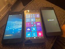 3 Microsoft Lumia Mobile Phones, ungetestet