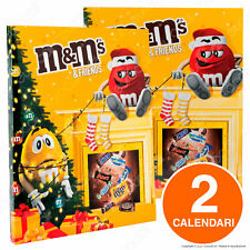 2 Calendari Avvento M&M's & Friends 48 Snack Dolci Mars Twix Bounty Snickers