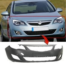 Vauxhall Astra J 5Dr 2009-2012 Front Bumper Primed With Sensor Holes UK Seller