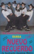 Banda Nuevo Recuerdo De Quebraditas Para Ti Cassette New Nuevo Sealed