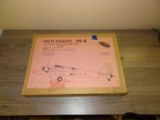 PETLYAKOV PE-8 1/72 scale Contrail Models Vacuum Form