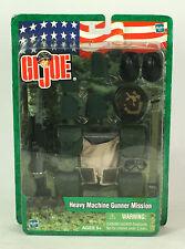 "GI JOE  Heavy Machine Gunner Mission 12""  HASBRO  G. I. Joe"