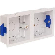 NEW Dry Lining Box Dual DIY Plug/Light socket