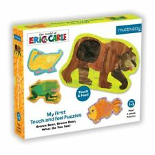 My First Touch & Feel World Of Eric Carle(Tm) Brown Bear, Brown Bear What D.