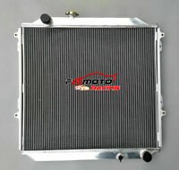 Aluminum Radiator for TOYOTA Hilux Surf KZN185 Prado KZJ90&KZJ95 Diesel 96-2002